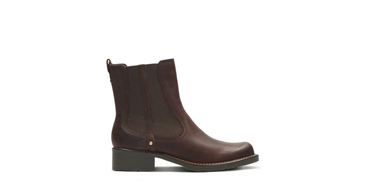 Größentabelle Damen Schuhe Black leather Clarks Originals