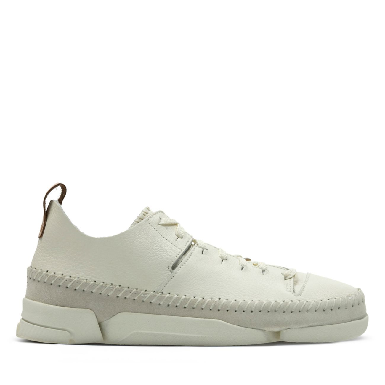 67e36926611f3b Trigenic Flex. White Leather - Originals Womens Shoes - Clarks® Shoes  Official Site | Clarks