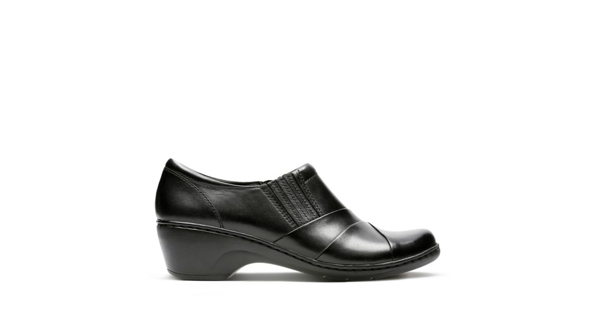 ab9cefd44cd Channing Essa Black Leather - Shoes for Women - Clarks® Shoes Official Site