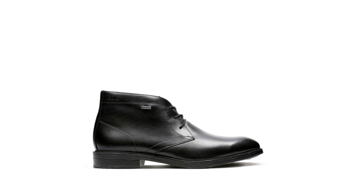 9e5a2bfc2166 Chilver Hi GORE-TEX Black Leather