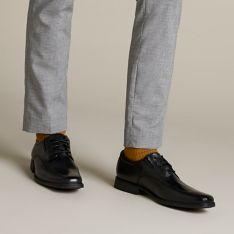 zapatilla Nublado no relacionado  Tilden Walk Black Leather - Men's Black Edit - Clarks® Shoes Official Site    Clarks