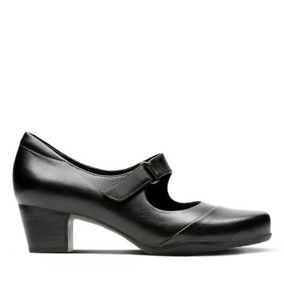 3bbb2a19707 Rosalyn Wren. Womens Shoes. Black Leather