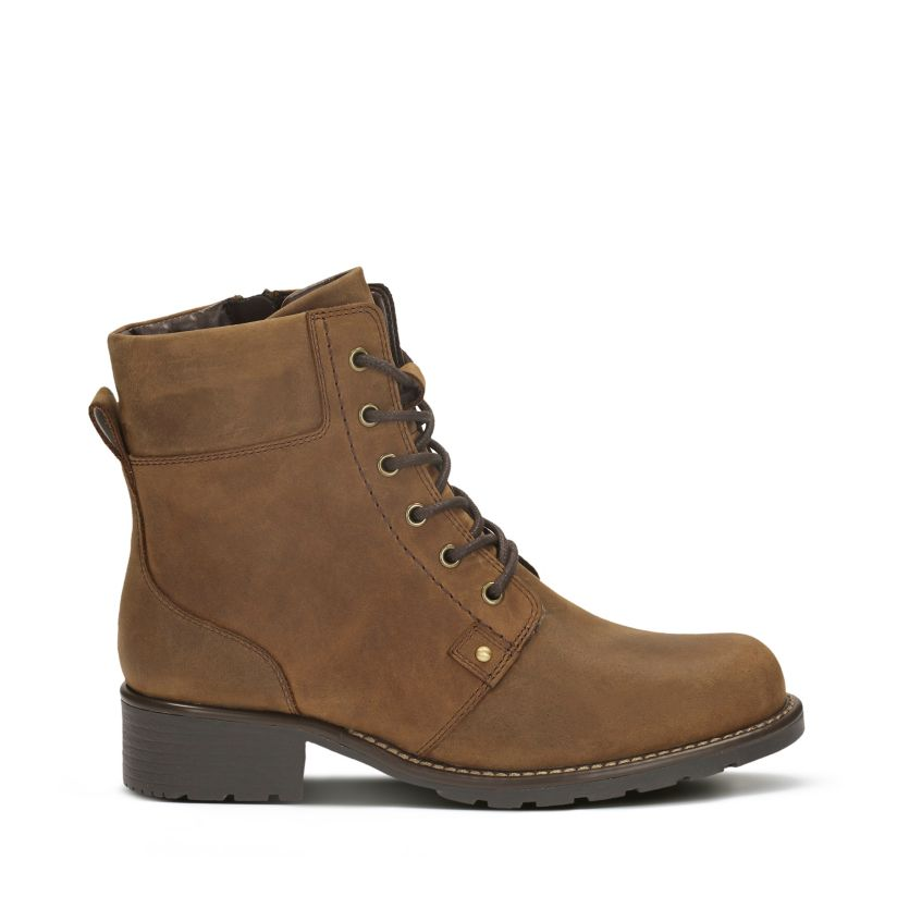 314bfc4e29b54 Orinoco Spice Brown Snuff - Womens Boots - Clarks® Shoes Official ...