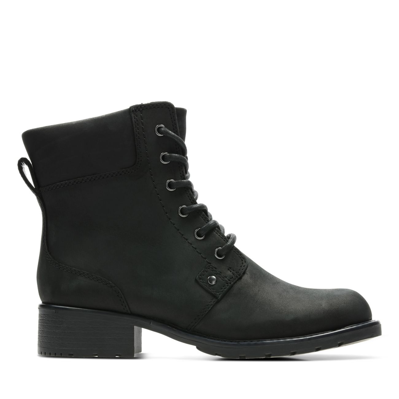 961c7f9431c Orinoco Spice Black Leather - Womens Comfortable Boots & Booties - Clarks® Shoes  Official Site   Clarks