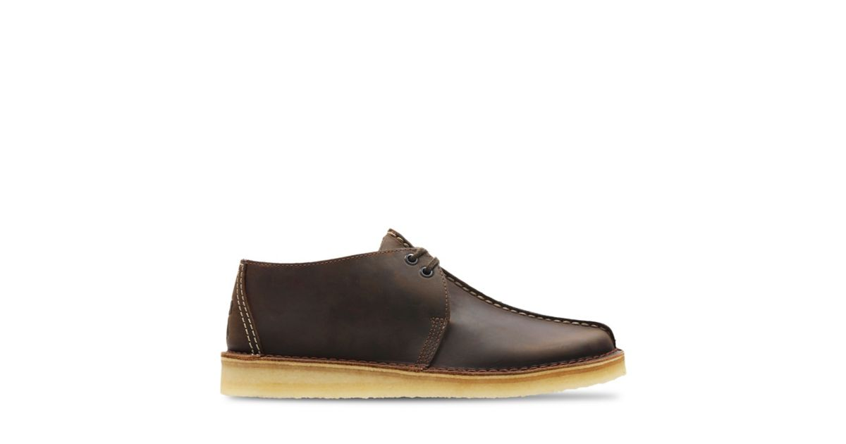 Zapatos de comodidad Clarks Desert Trek Hombre Beeswax