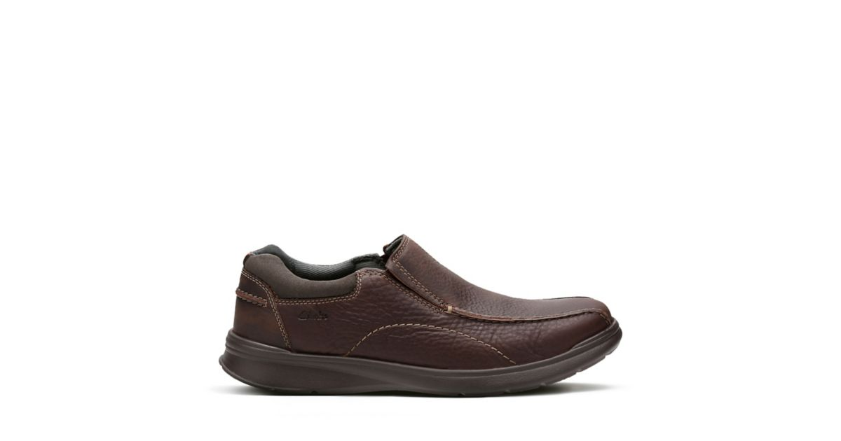 eedc55c83d0 Cotrell Step Brown Oily Leather - Men s Casual Shoes - Clarks® Shoes  Official Site