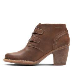 0fb63265ffd Carleta Lyon Brown Oiled Nubuck - Women's Booties & Ankle Boots ...