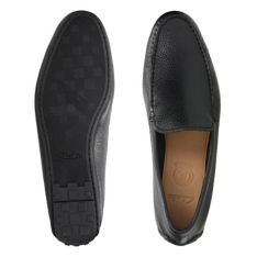 31f81a63b6ea4 Reazor Edge Black Leather - Men's Loafers and Slip-Ons - Clarks ...