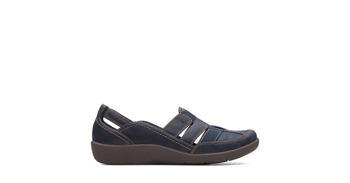 0e3ddd54931 Sillian Stork Navy - Womens Shoes - Clarks® Shoes Official Site