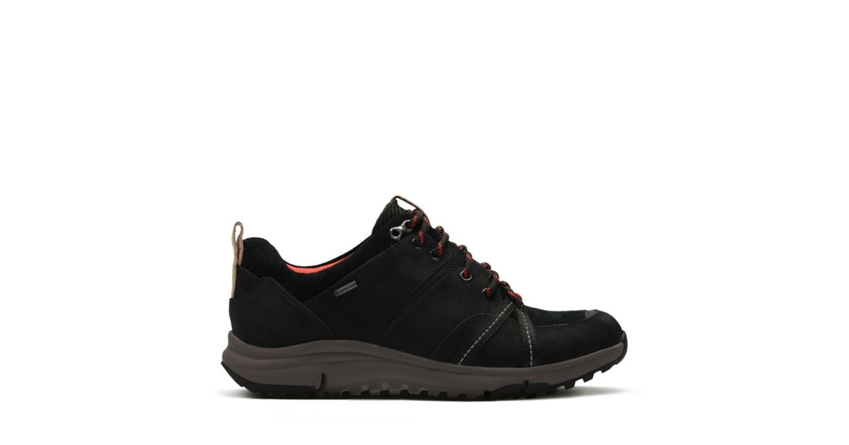 33d7f78e598e0 Tri Trek GORE-TEX Black Nubuck   Clarks