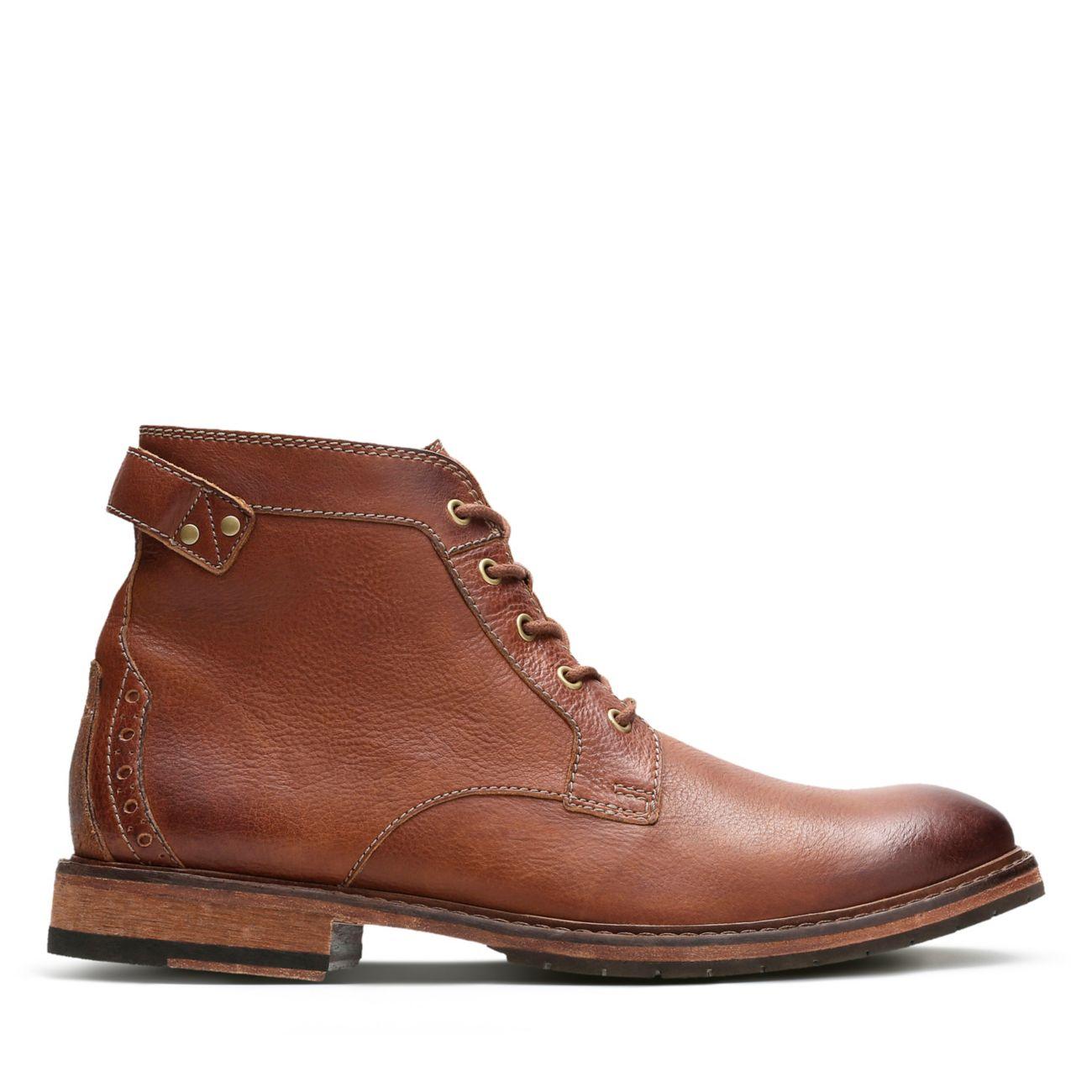 b59863f9516d9f Clarkdale Bud Cuir brun foncé | Clarks