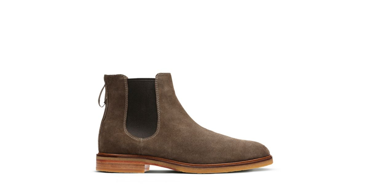f968c4680ace98 Clarkdale Gobi Olive Suede - Men's Casual Boots - Clarks® Shoes Official  Site | Clarks