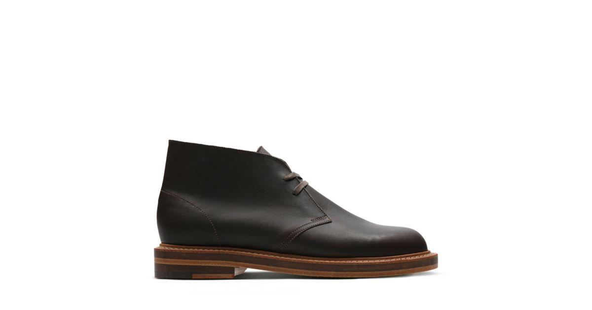 80bd655c9ef Desert Welt Dark Brown Lea - Clarks Originals Mens Boots - Clarks® Shoes  Official Site