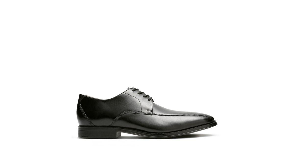 8e8c9700f2d Gilman Mode Black Leather - Men s Oxford Shoes - Clarks® Shoes Official  Site