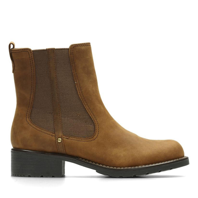 e08bfd2ea0c Orinoco Club Brown Snuff - Women's Booties & Ankle Boots - Clarks® Shoes  Official Site   Clarks