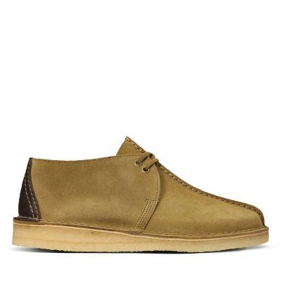 70b94f164 Desert Trek. Mens Originals Shoes. Olive Suede