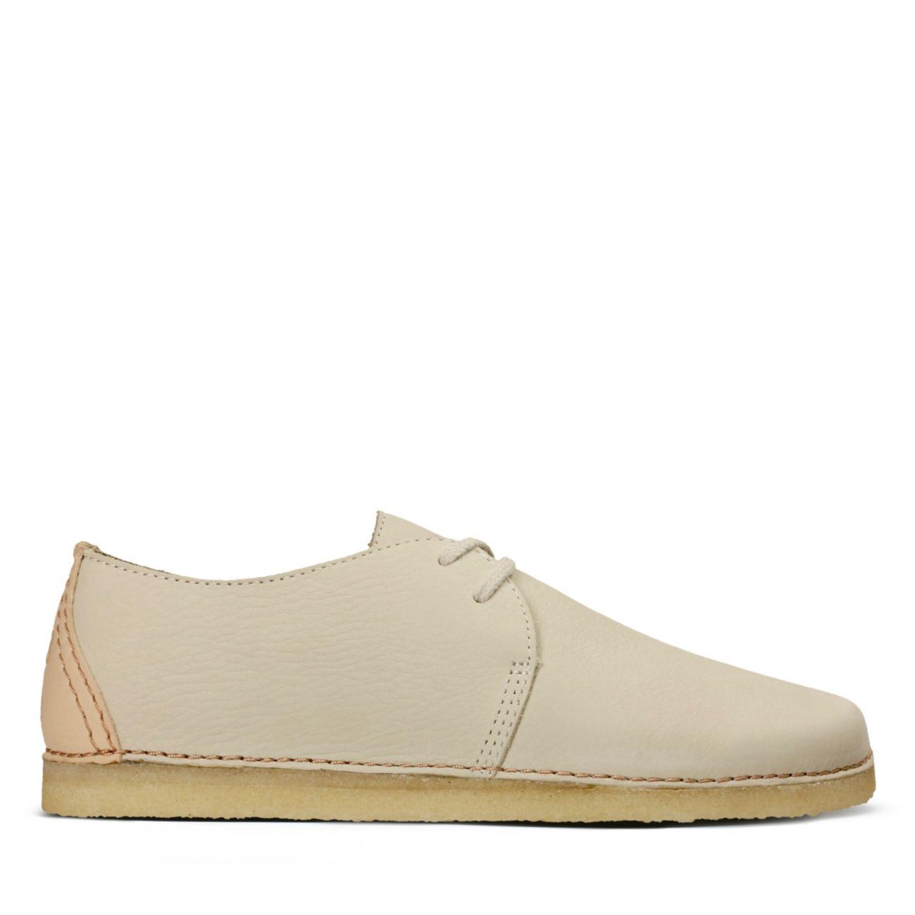Clarks Originals Blanc Femme Desert Boot F & Chaussures