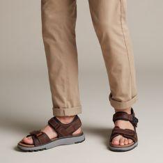 0b2144f884 Un Trek Part Dark Tan Leather - Clarks® Shoes Official Site | Clarks