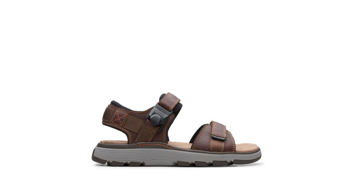 0cd1b4b891f6 Un Trek Part Dark Tan Leather - Clarks® Shoes Official Site