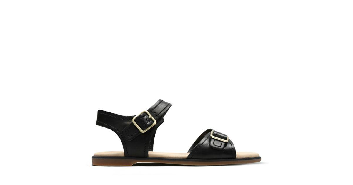 1d28362551ca6 Bay Primrose Black Leather | Clarks