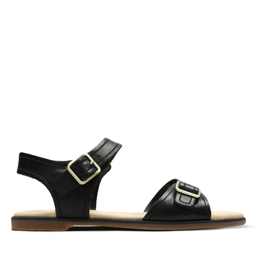 a1189d0a Bay Primrose Black Leather | Clarks
