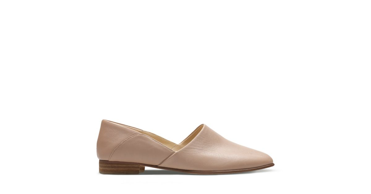 4433bac88758 Pure Tone Nude Leather - Women s Shoes - Clarks Shoes Official Site ...