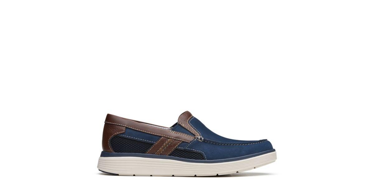 00d88965edd Un Abode Free Navy Nubuck - Men s Unstructured Shoes - Clarks® Shoes  Official Site