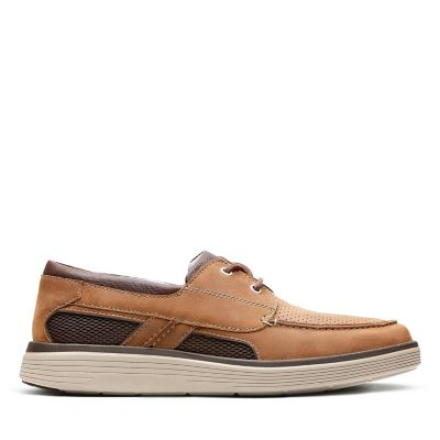 7acbf9569f7 Un Abode Step. Mens Shoes. Dark Tan Leather