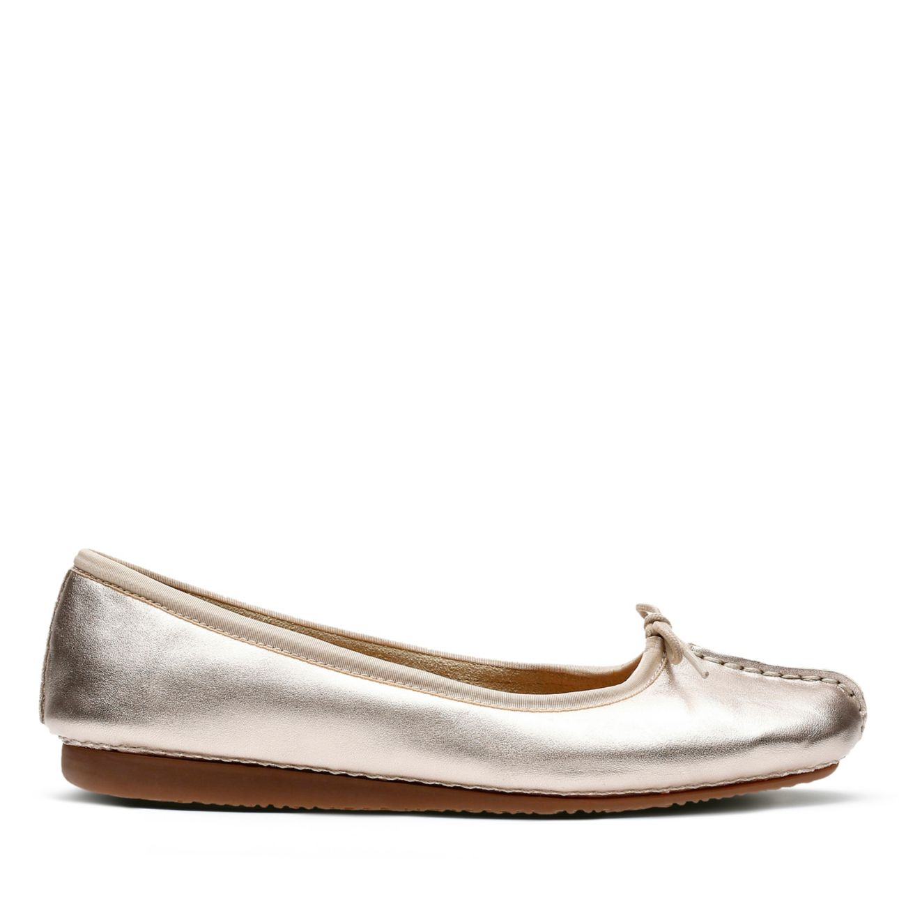1780c16746a Freckle Ice Gold Metallic | Clarks