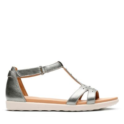 e033b25cc0c Women s Gold and Silver Sandals