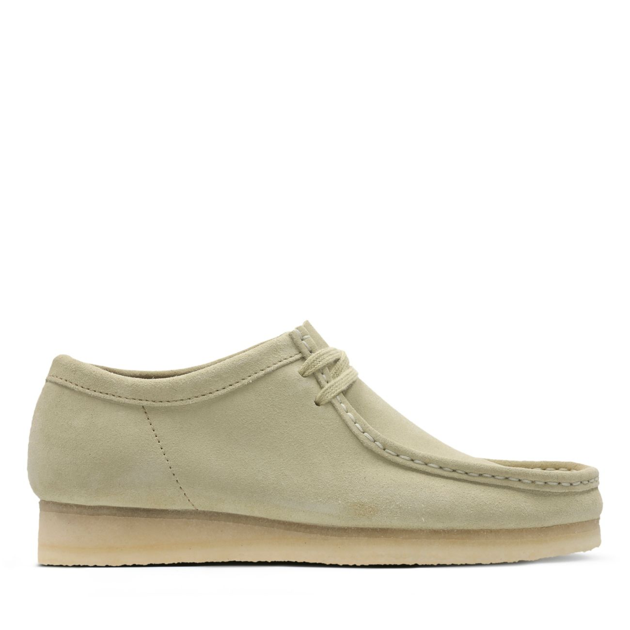 Hommes Clarks Mens Originals Icon Boots Wallabee Boot Maple