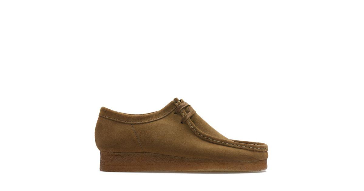 Hombre Zapatos Clarks Originals Wallabee Cola Ante