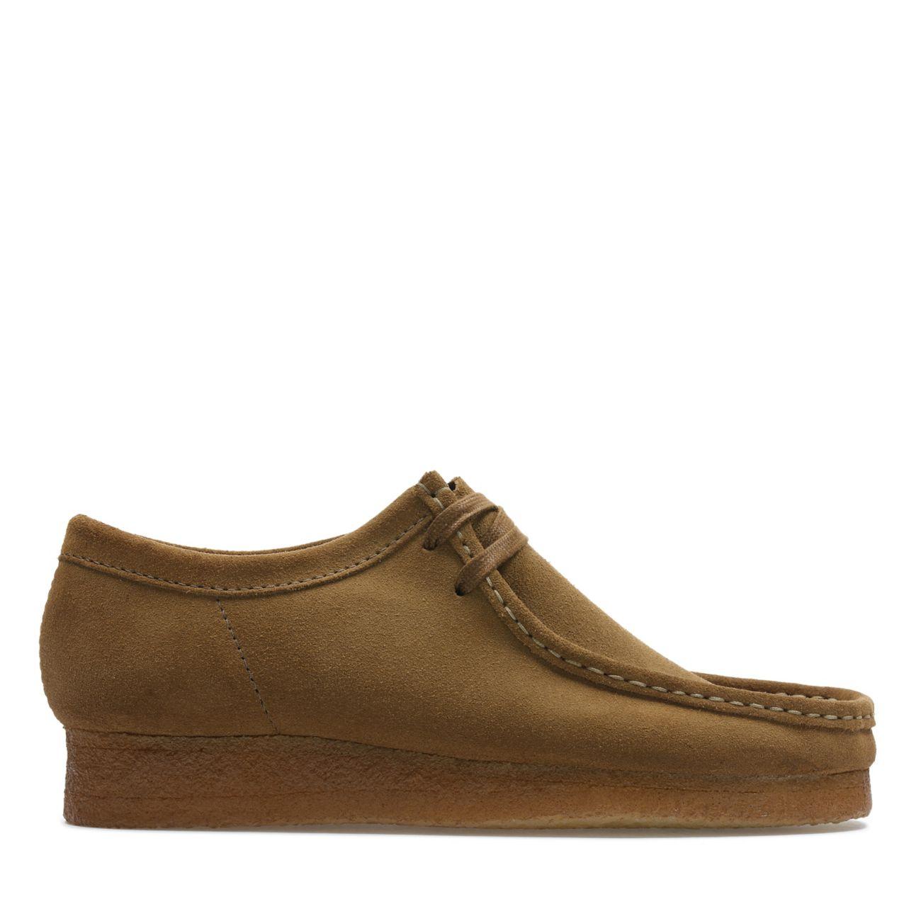 Détails sur Clarks Originals Homme Nouveau Wallabee Daim Crêpe Semelle Chaussures cola marron afficher le titre d'origine
