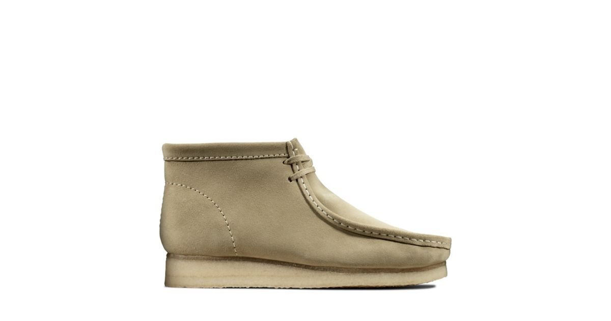 Wallabee Boot Maple Suede Clarks® Shoes Official Site | Clarks