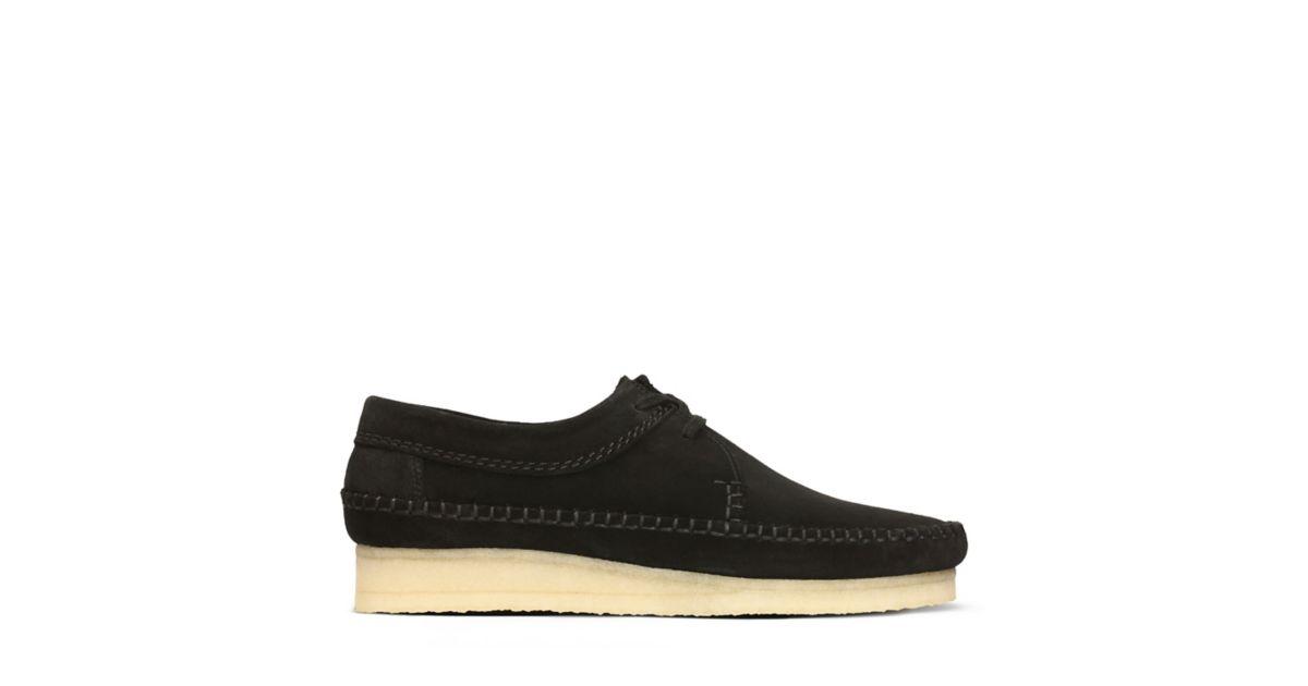 551f2f993e42d Weaver Black Suede - Clarks Original Shoes for Men - Clarks® Shoes Official  Site