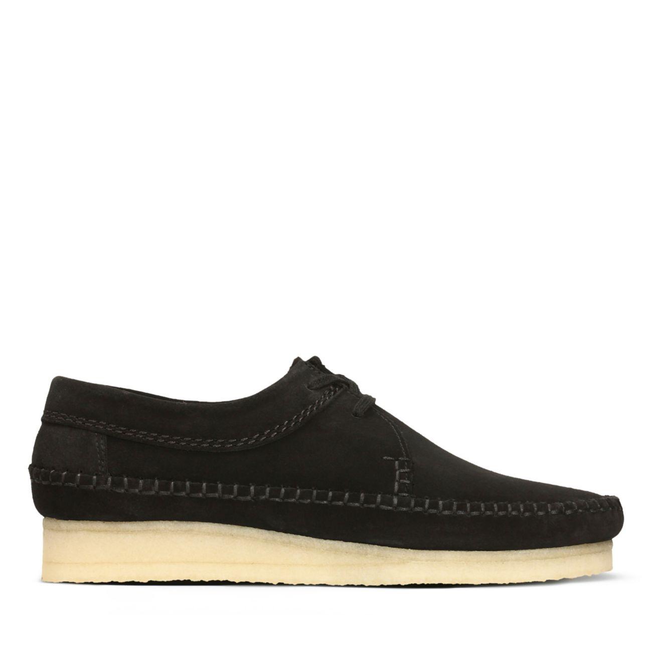 90b01f84 Weaver Black Suede - Clarks Original Shoes for Men - Clarks® Shoes Official  Site | Clarks