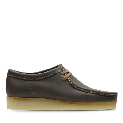 d1dc7bf0822302 Wallabee. Clarks Originals Herrenschuhe. Braun