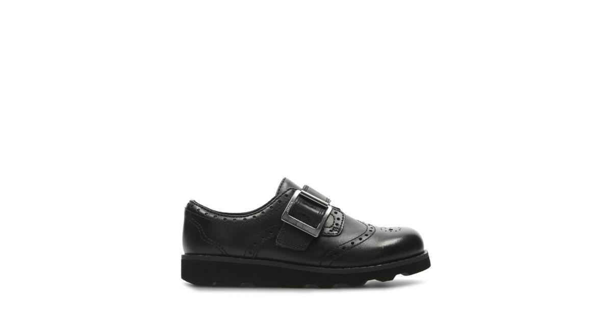 ddc7fee7c62 Crown Pride Black Leather