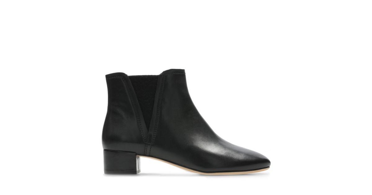 fcc268d351fc78 Orabella Ruby Black Leather - Clarks® Shoes Official Site