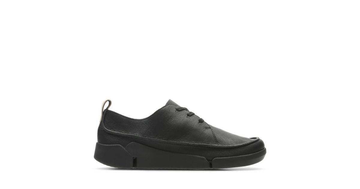 b3749d157528 Tri Clara Black Leather