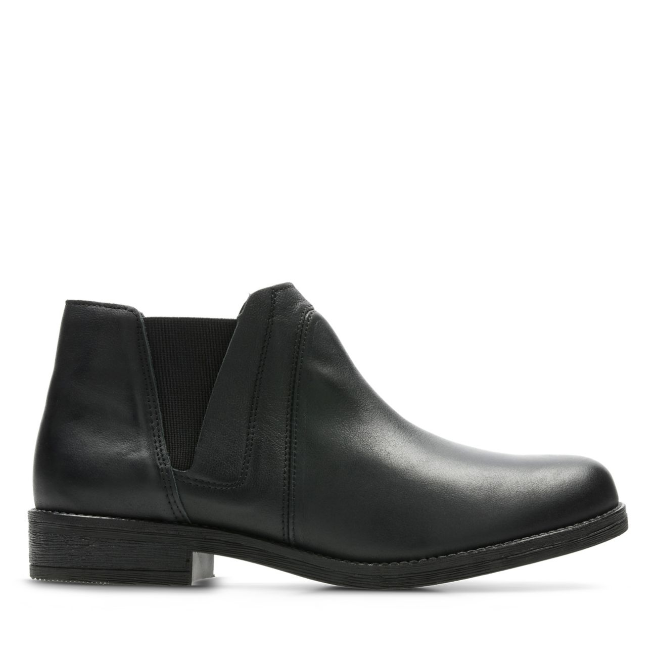 ace609d8b650f9 Demi Beat Black Leather - Women's Boots - Clarks® Shoes Official Site    Clarks