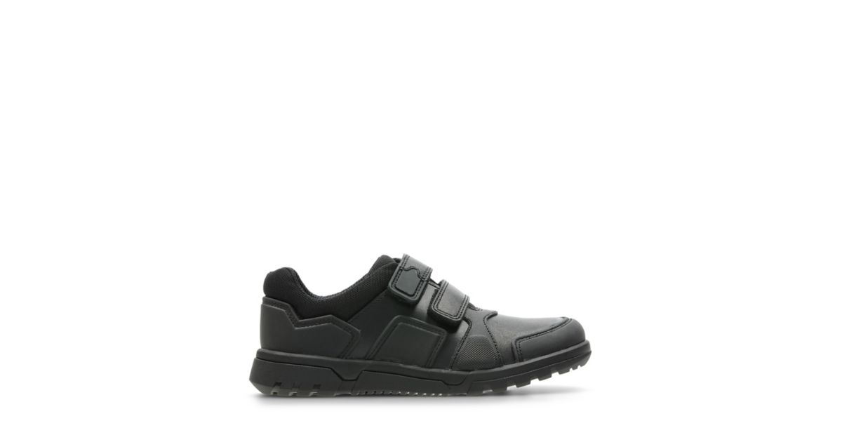 8626a8ac2fa9 Black leather school shoes