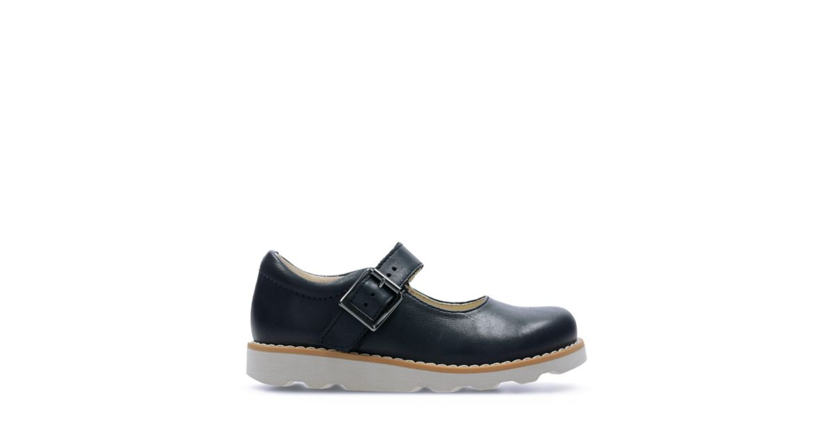 6ec3c29a5e7 Crown Honor Navy Leather | Clarks