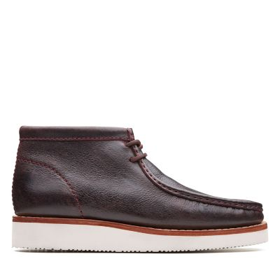 Wallabee Hike Bordeaux Leather