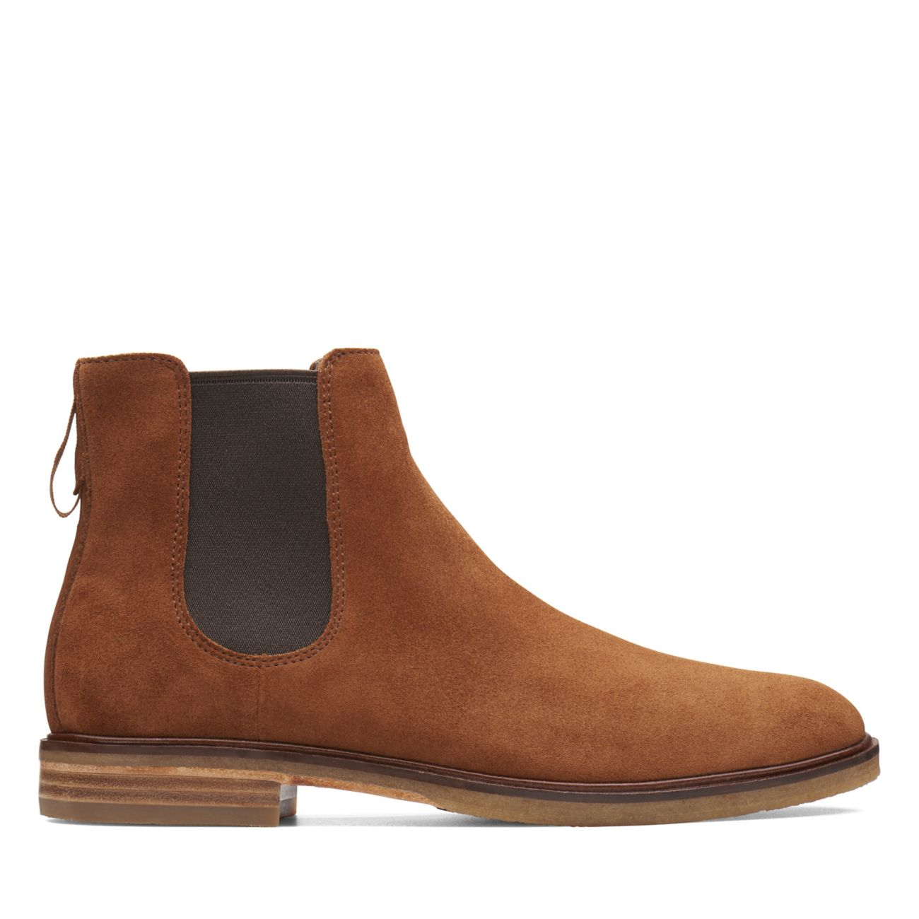 a2c2e009b9adfc Clarkdale Gobi Dark Tan Suede - Mens Chelsea Boots - Clarks® Shoes Official  Site   Clarks