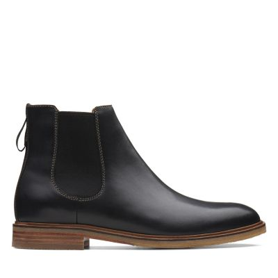 a9016a63c709cb Mens Boots | Mens Black Leather & Suede Boots | Clarks