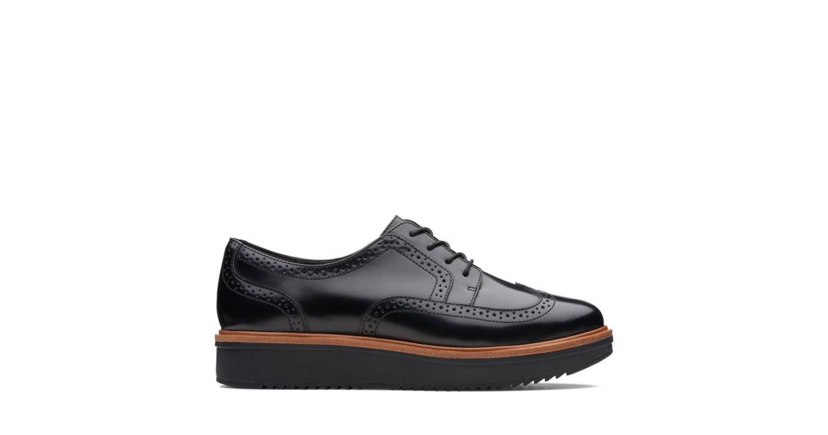 bd0383214e5 Teadale Maira Black Leather - Women's Shoes - Clarks® Shoes Official Site |  Clarks