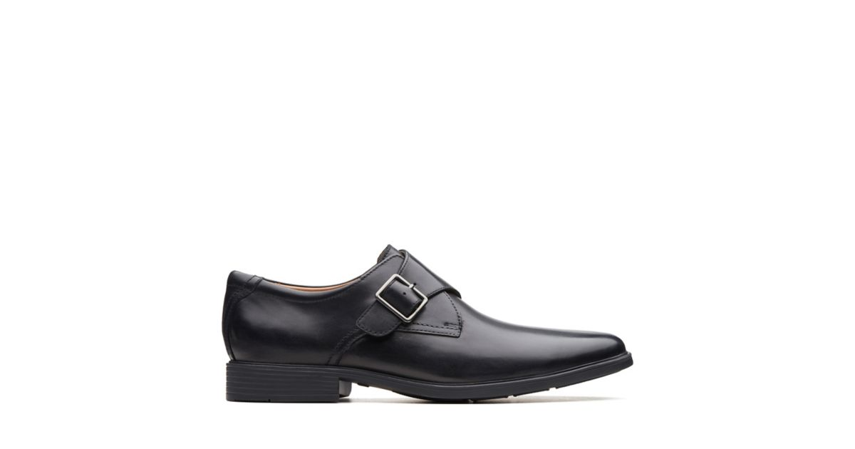 632b89fef60 Tilden Style Black Leather - Clarks® Shoes Official Site