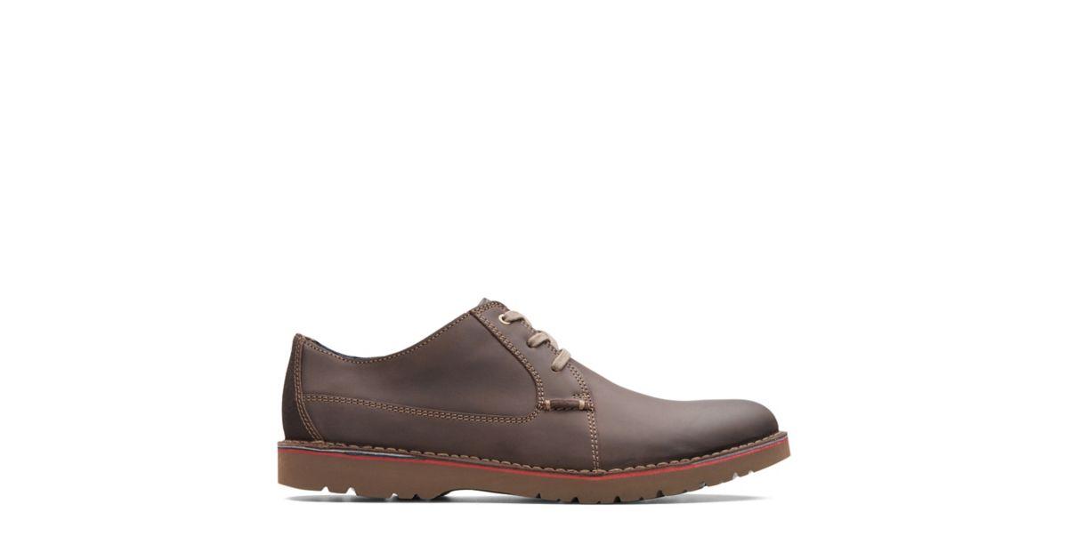 55565c69a4b Vargo Plain Dark Brown Leather