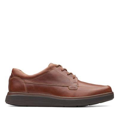 7bbb0bdc0 Un Abode Ease. Zapatos para hombre. Cuero Marrón Tostado Oscuro